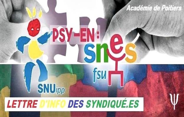 Élections professionnelles 2017 PSY-EN : Victoire pour la liste FSU (SNES-SNUIPP)