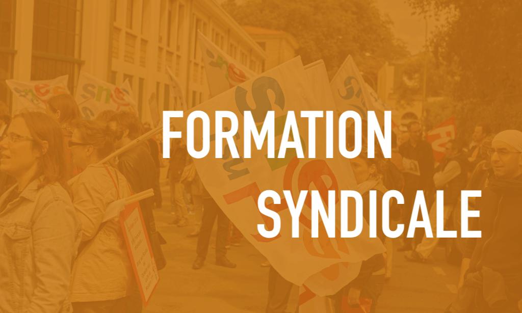 Stages syndicaux : demandez le programme !