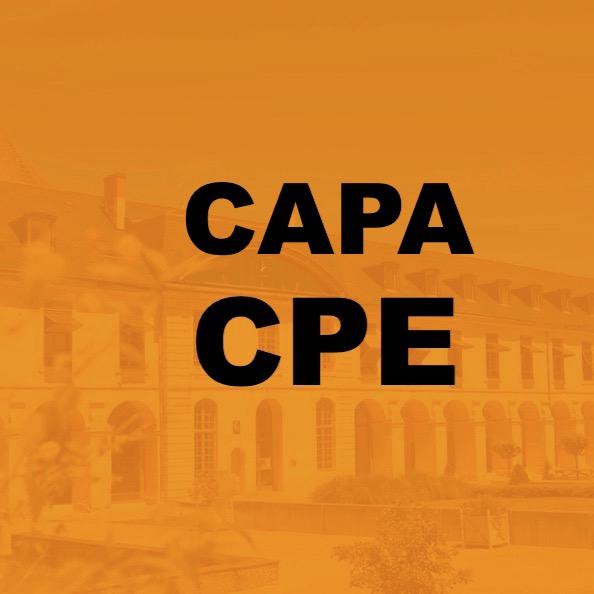 CAPA des CPE Promotion à la Classe exceptionnelle et l'Échelon spécial – 25.09.2020