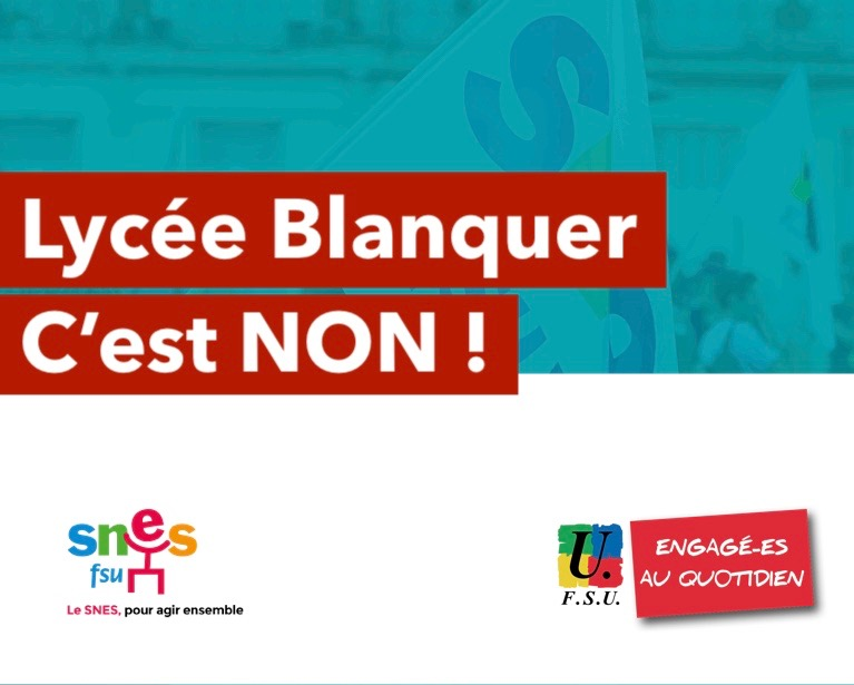 Lycée Blanquer : la grande arnaque