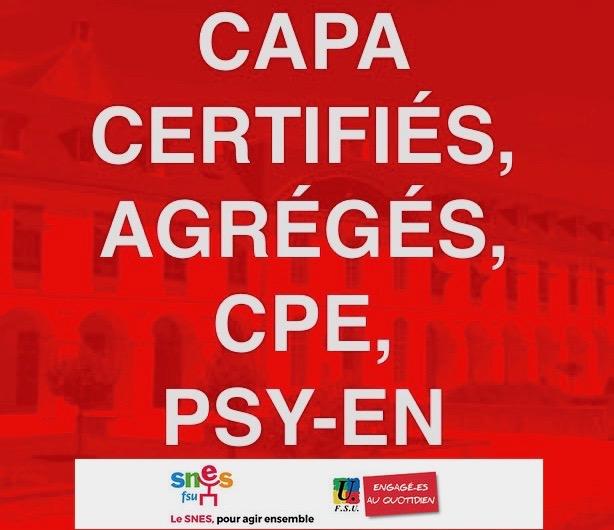 Mutations, promotions : le SNES-FSU défend vos dossiers en CAPA