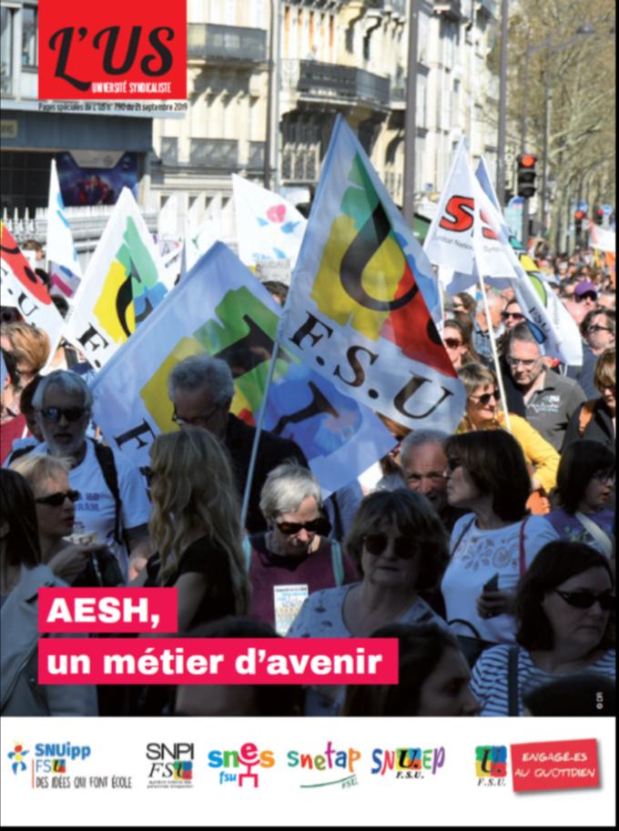 AESH : 20 novembre : dans l'action pour d'autres conditions de travail !