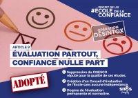 Auto-évaluation: le piège du nouveau management public